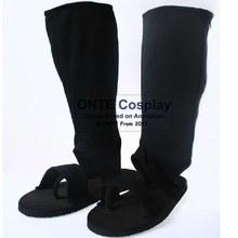 ONTE Наруто Обувь Наруто Косплей Саске Орочимару Nanja Сапоги Типа Черный Косплей Обувь Dropshipping