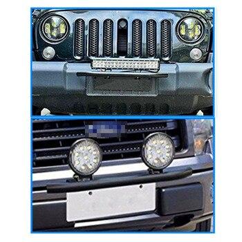 جديد وصول الفولاذ المقاوم للصدأ الثور بار نوع سيارة SUV الوفير لوحة ترخيص العمل كتيفة المصباح عدة CSL2017