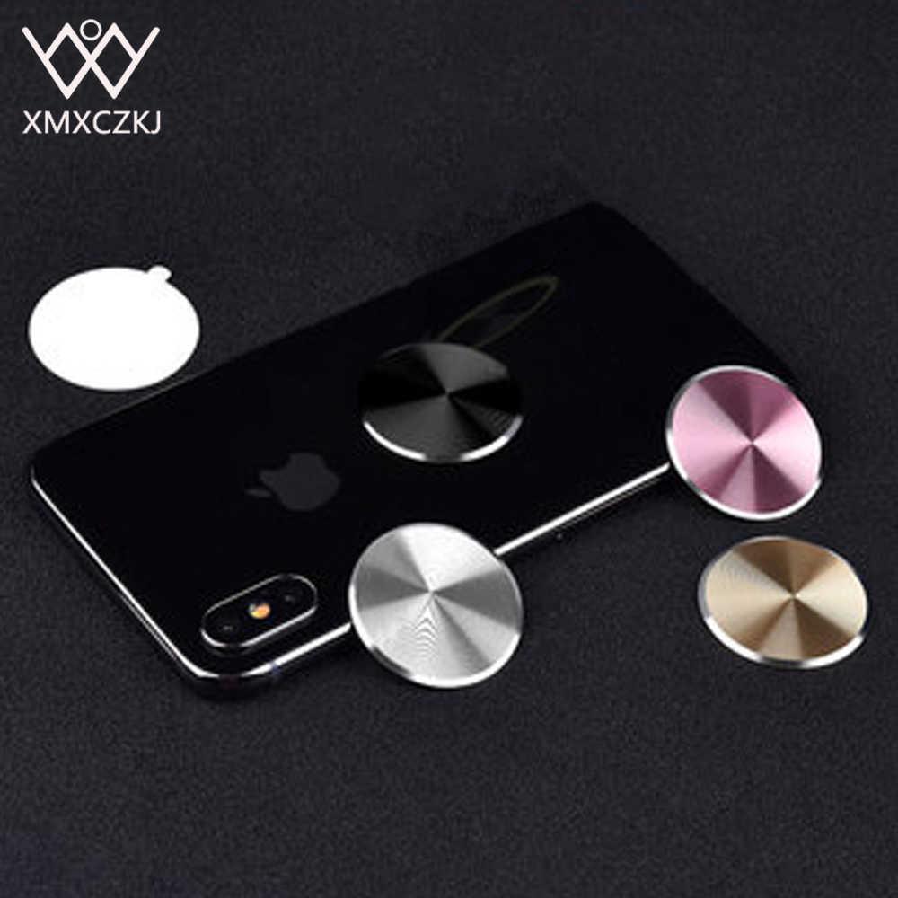 XMXCZKJの金属板3M Adhensive携帯電話の磁石のホールダーの付属品の金属板が付いている磁気車の台紙の取り替えのキット