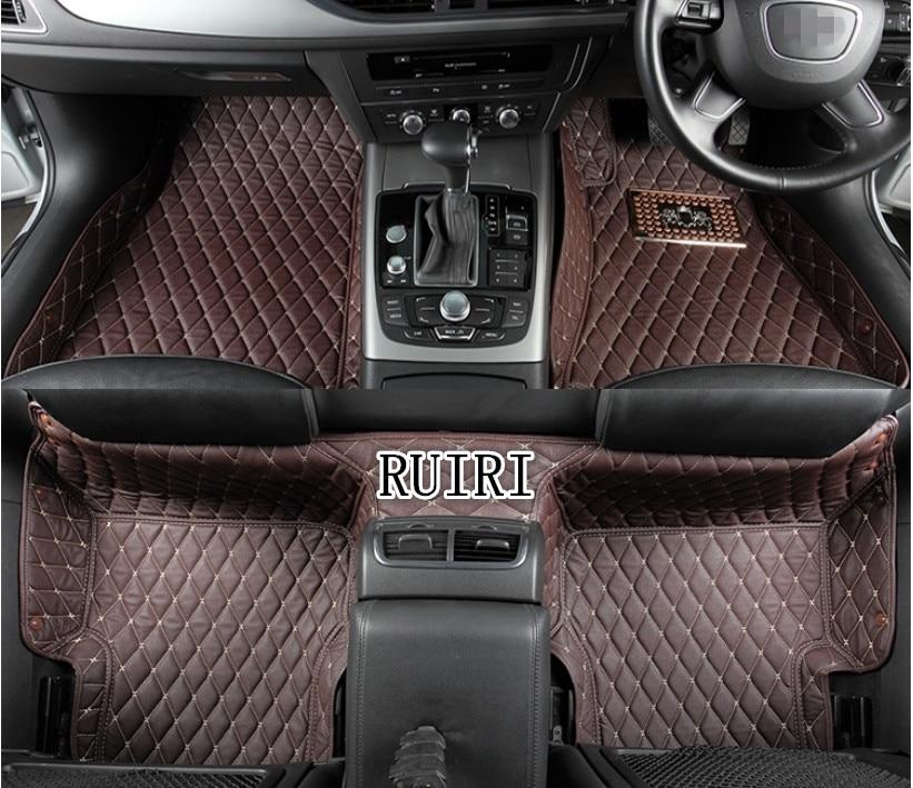 Good! Custom special floor mats for Right Hand Drive Maserati Levante 2018 2016 non slip carpets for Levante 2017,Free shipping