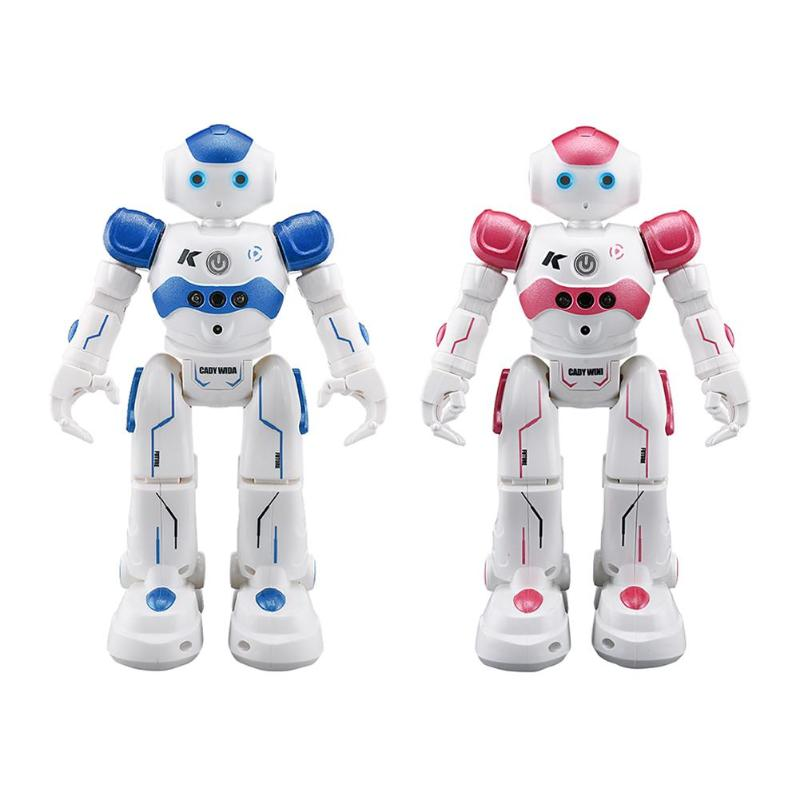 Remote Control Toys Remote Control Robot JJRC R2 CADY WIDA/WINI USB Charging Dancing Gesture Control RC Robot Toy boys f4 intelligent gesture recognition robot mobile phone app wifi remote control toys camera walking dancing robot rc model