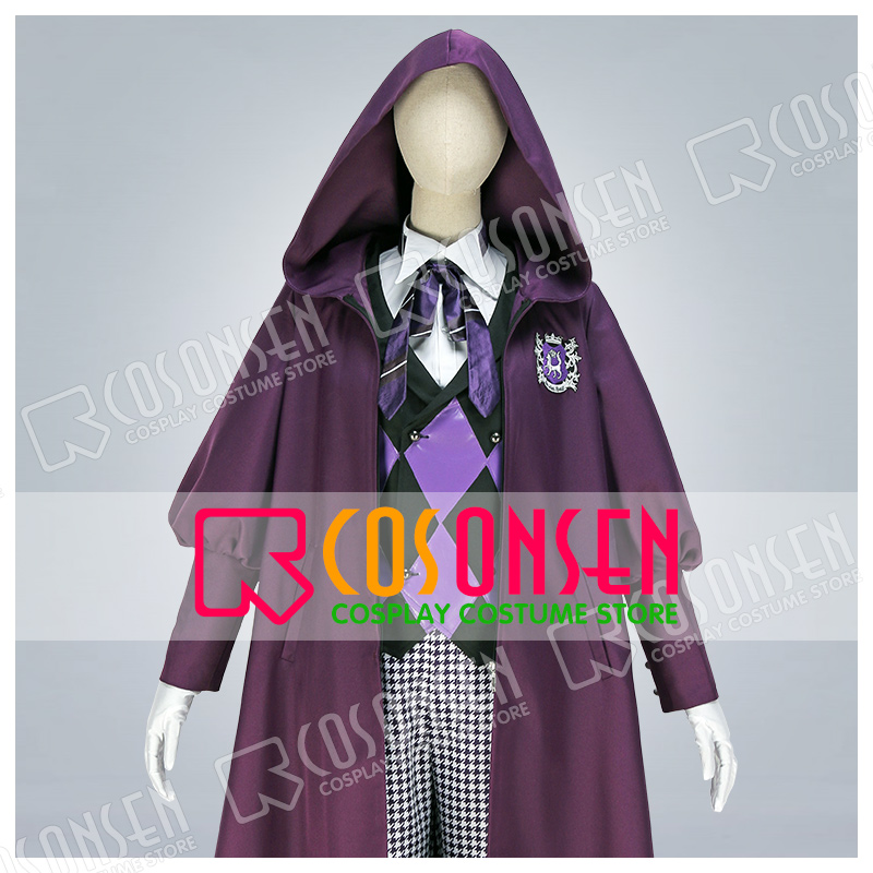 Black Butler Gregory Violet Public School Series P4 Cosplay Costume COSPLAYONSEN