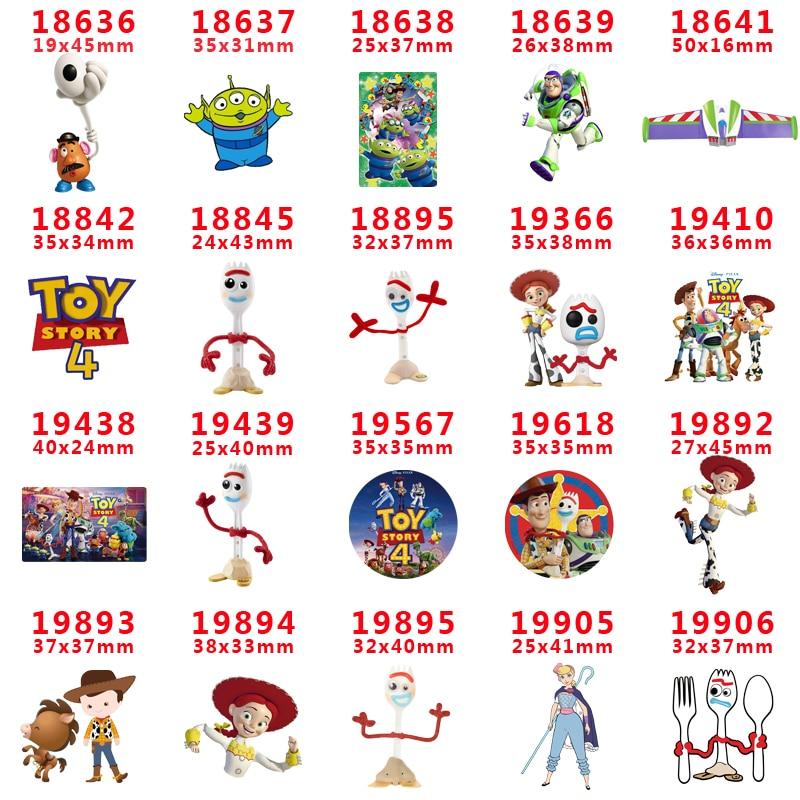 Free Shipping 30 Pcs Cartoon Character Planar Resin PR 18636