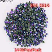 ZOTOONE 1440pcs SS16 Crystal AB Rhinestone 2mm Thermal Adhesive Wedding  Dress Strass Hotfix DIY Flatback Rhinestone 3b7729f18227