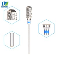 Victool Carbide Drill Nail Bits Universal Grit For Electric Nail Files Machine Electric Manicure Pedicure Bit