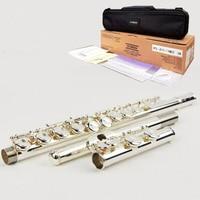 Japan flute YFL 311 16 hole E key closed hole flauta C flute professional music instrument flauta transversal With box