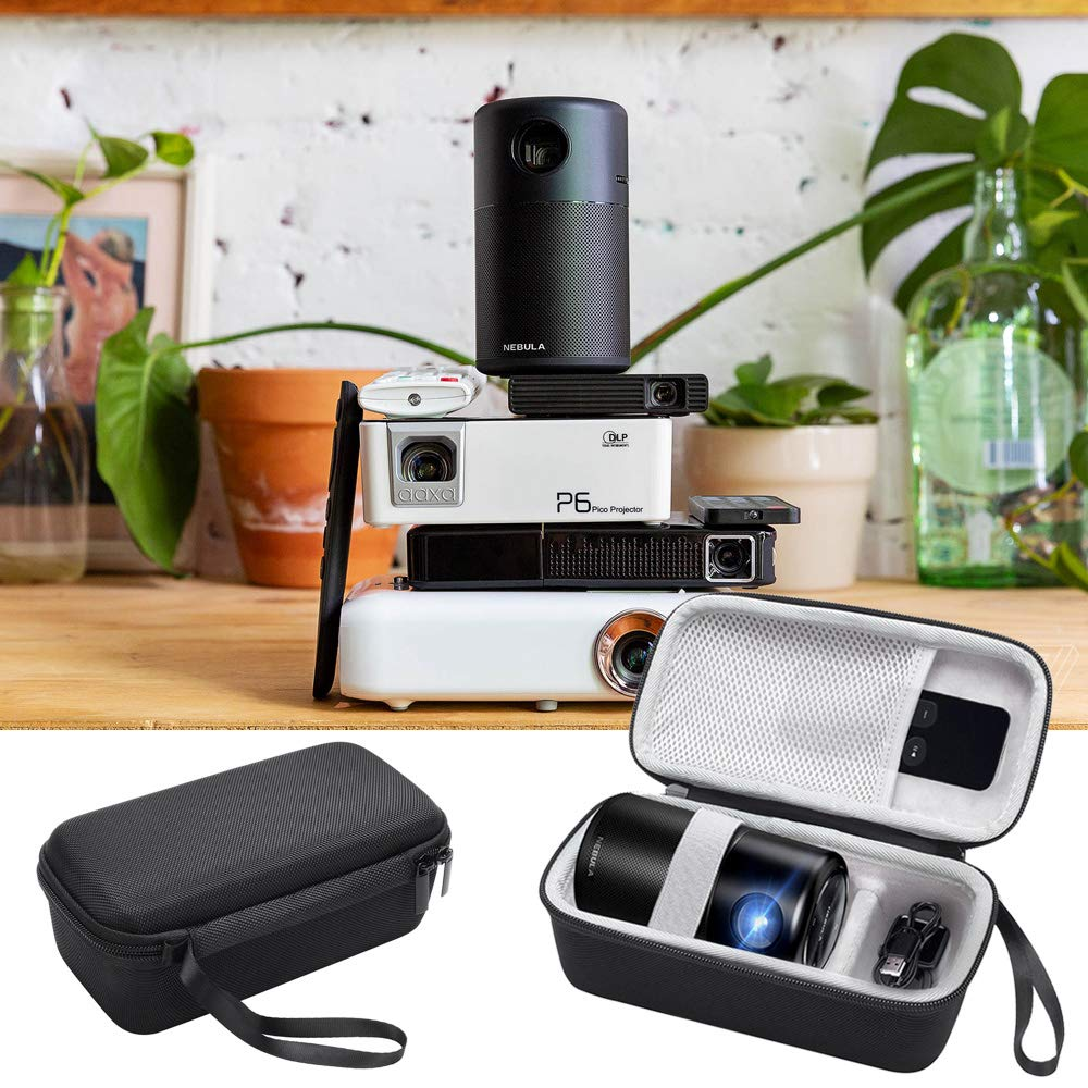 New Hot EVA Hard Mini Projector Case Bag Portable Cloth Protection For Nebula Capsule Smart Mini Projector Travel Carrying Bag