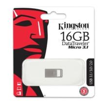 Kingston 16GB 128gb Micro Pen Drive USB 3.1 Memoria Key Mini Memory Disk USB 3.0 Flash Drives with Metal Shell
