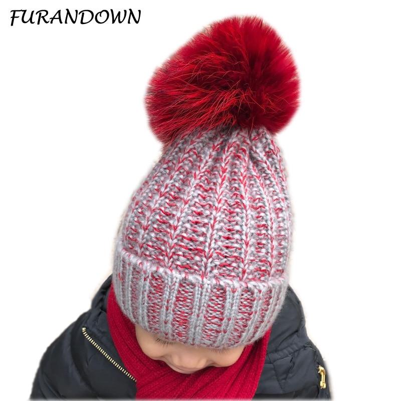 3-8 anni Cappellino invernale per bambini Visone Cappello di - Accessori per vestiti