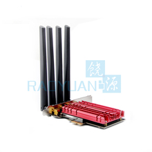 Двухдиапазонный AC1900 Broadcom BCM94360 беспроводной 802.11AC Wi-Fi адаптер настольный wi-fi PCI Экспресс-карта для Mac OSX + ПК/Hackintosh Win10