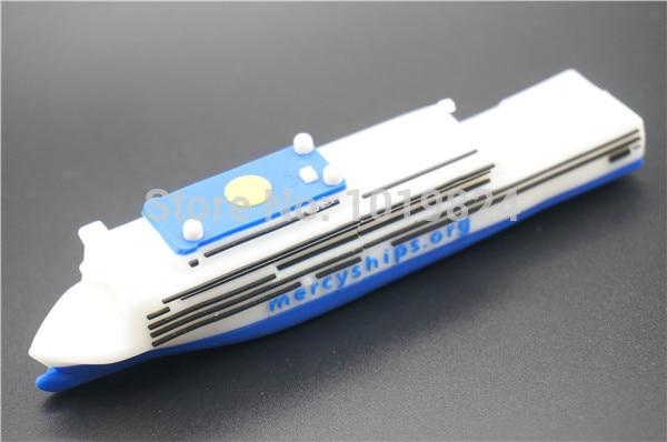 Newest design Steamship model USB Flash Drive pen drive 8GB 16GB 32GB 64GB Gold Bar USB Flash Drive memory pendrive Stick disk