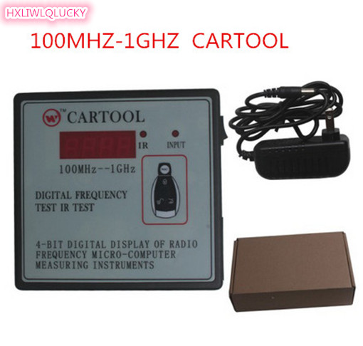 HXLIWLQLUCKY Frequency Tester 100mhz 1ghz Cartool Car Ir Infrared Remote Key Free Shipping