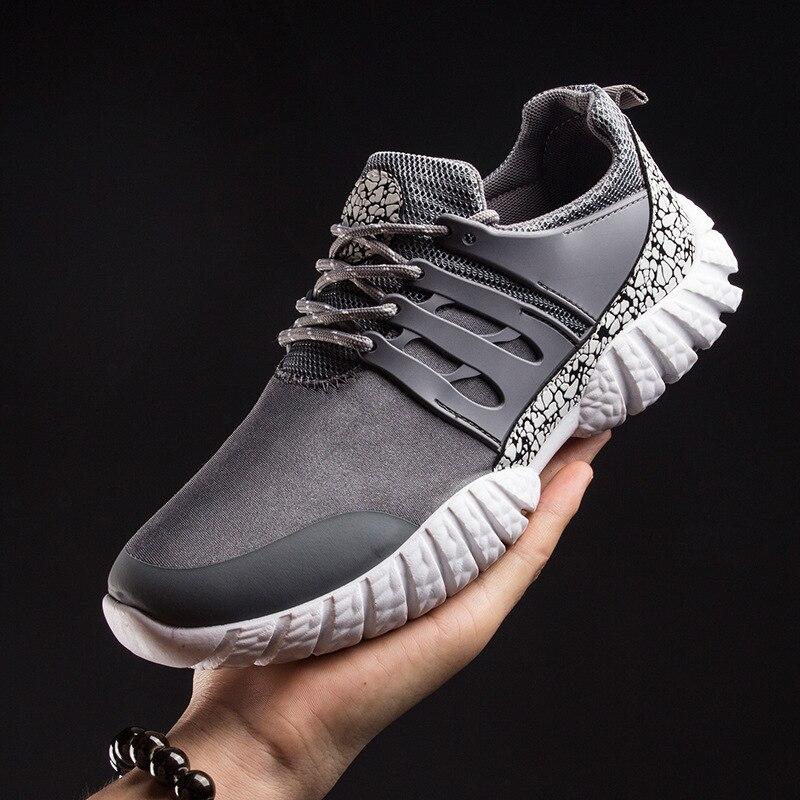 2016 hot sale Men Comfortable Shoes Lace Up Fashion Causal Shoes Breathable Light Soft Men Flats608