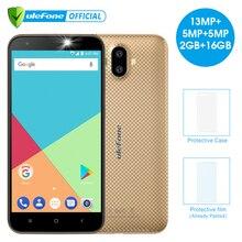 Ulefone S7 Pro 5.0 inç HD Cep Telefonu Android 7.0 MTK6580 Quad Core 2 gb RAM 16 gb ROM 13MP çift Arka Kameralar 3g Smartphone