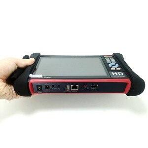 Image 4 - Бесплатная доставка DHL, тестер видеонаблюдения H.265 4K Wanglu X7 8 Мп, TVI CVI AHD SDI CVBS, тестер IP камеры, монитор с кабельным трассировщиком, тест кабеля UTP/RJ45