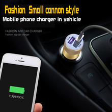 Vacarx car cigarette lighter socket single hole double USB charger with intelligent battery voltage monitoring