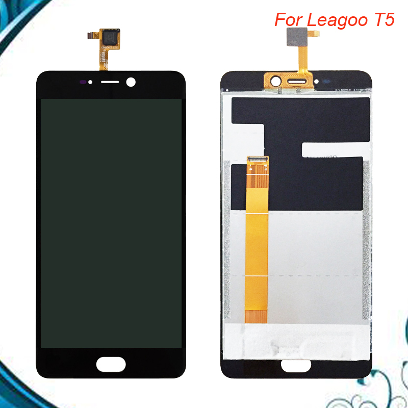 1920*1080 For Leagoo T5 LCD Display Assembly+Touch Screen Digitzer Repair Panel Glass For Leagoo T5 Cell Phone