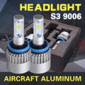 2x Cree Chips H7/H11/9005/9006 LED Headlight Bulbs CSP 72W 8000lm 6500K All In One Single Beam Car Driving Headlight Fog Light