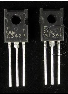 2018 hot sale 50pair Original JAPAN new classic sound A1360 C3423 Transistor free shipping