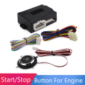 New Car Engine Start Stop Push Button Switch Smart Start System Engine Lock Starter Match the car alarm And Remote Central Lock