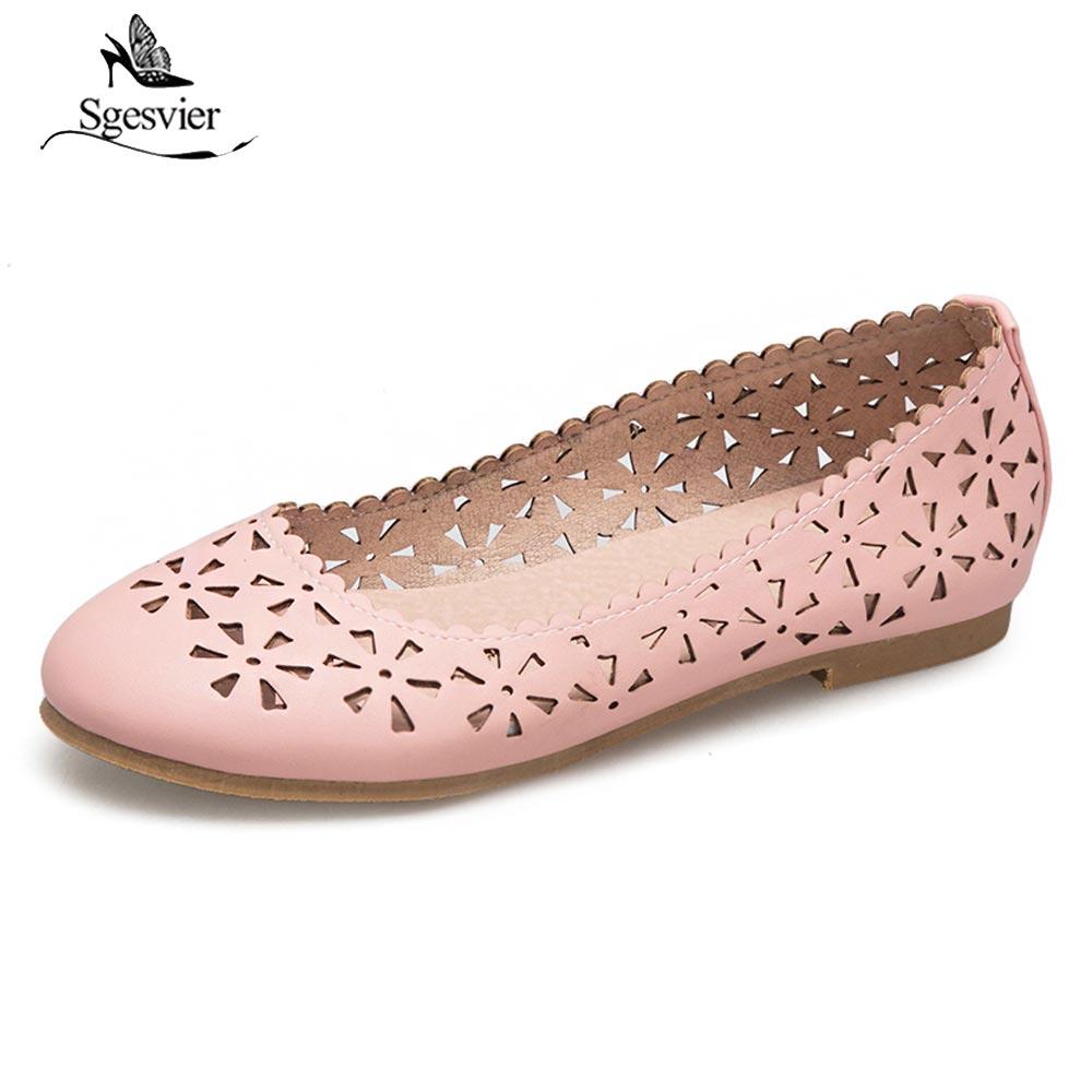c5a1ab9bb683f3 Appartements Femmes Rond Mode Femme B92 Casual Chaussures Sgesvier  Paresseux rose Mocassins Plates Ballet Doux Beige ...