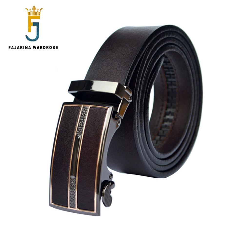 FAJARINA Shkalla Formale 100% Cowhide Emri origjinal i markës Rrip - Aksesorë veshjesh - Foto 2