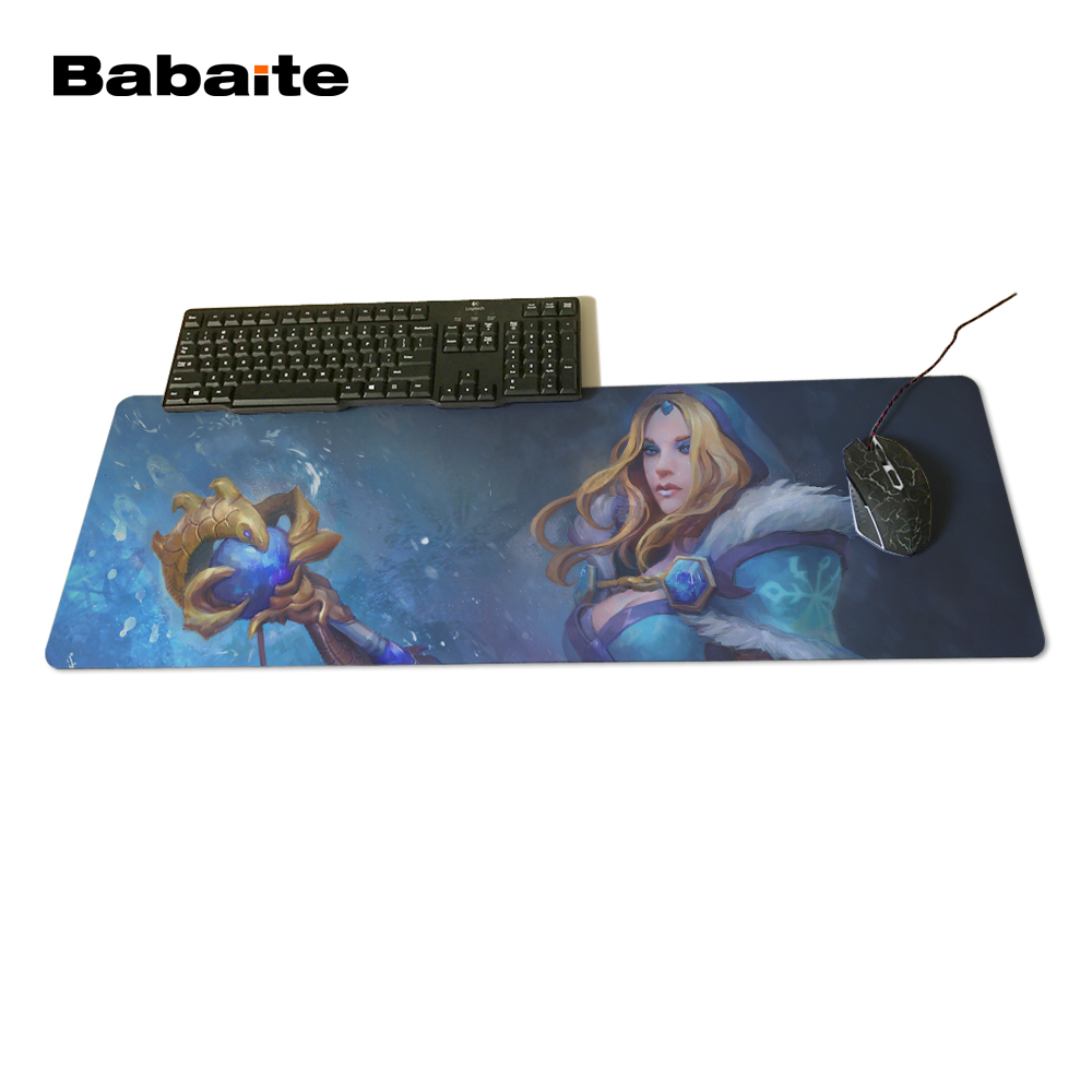 Babaite Mouse Mat For Optical Mouse Pad Dota 2 Rylai The Crystal Maiden 1 400X900X2Mm Brand Gaming Mousepads