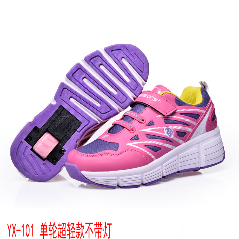 Heelys 2019 Children Sneakers With One Wheel Boys Girls Roller Skate Casual Shoe With Roller Kids Girl Sport Shoes