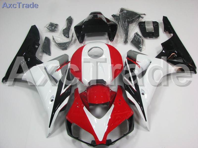 Motorcycle Fairings For Honda CBR1000RR CBR1000 CBR 1000 RR 2006 2007 06 07 ABS Plastic Injection Fairing Kit Bodywork Red White motorcycle fairing kit for kawasaki ninja zx10r 2006 2007 zx10r 06 07 zx 10r 06 07 west white black fairings set 7 gifts kd01