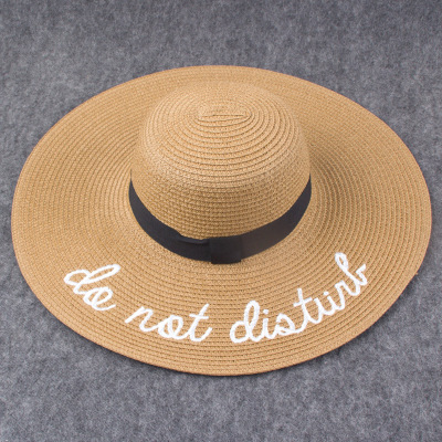 de916ebcf0e Dropwow 2018 Summer Women Sun Hat Ladies Wide Brim Straw Hats ...
