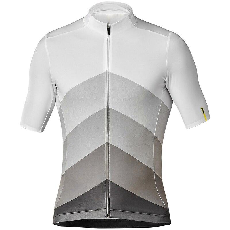 2019 MAVIC equipe Pro Verão Jerseys Bicicleta Camisa dos homens Camisa de Ciclismo Ciclismo Bicicleta Sportswear Maillot ciclismo Respirável