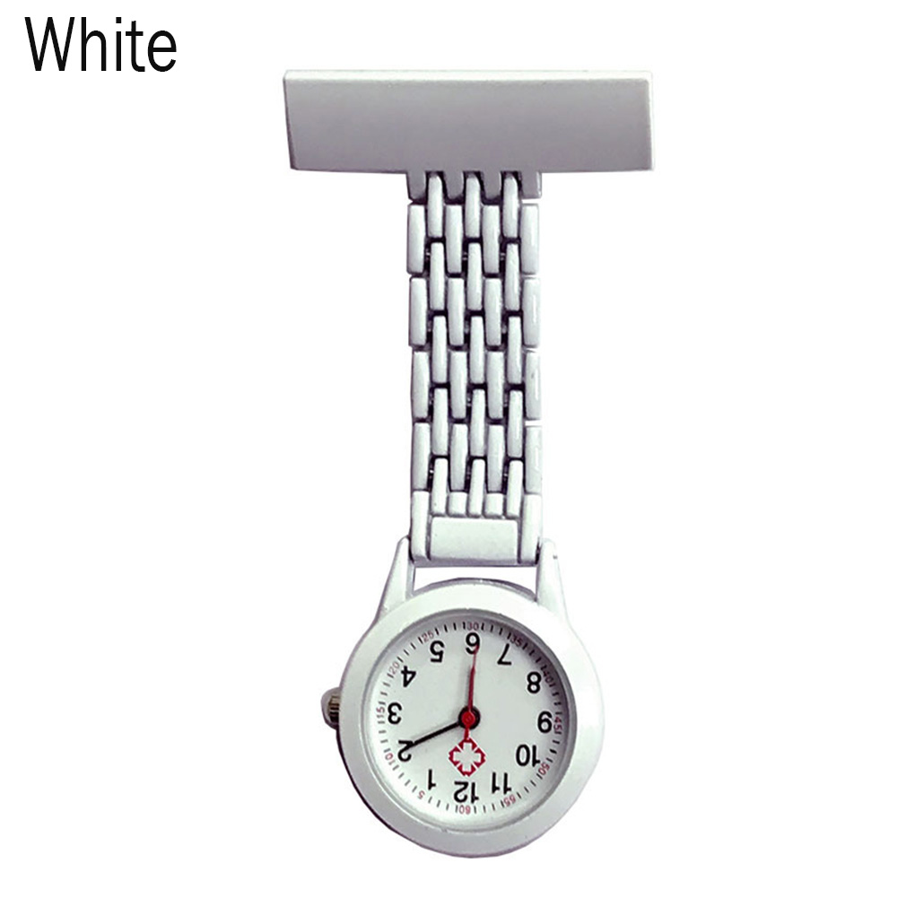 Nurse Quartz Watch Brooch Pocket Brooch Clip Medical Nurse Pocket Nursing Watch TS95