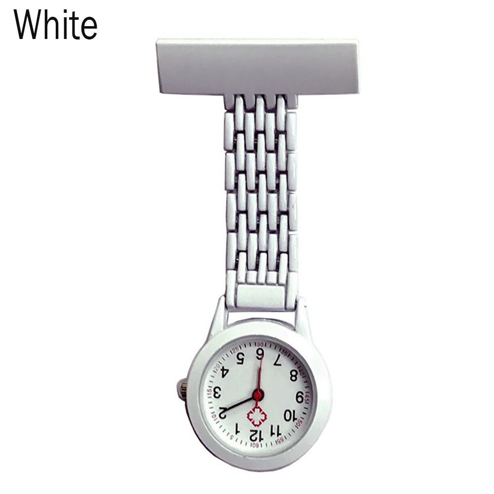 Nurse Quartz Watch Brooch Pocket Brooch Clip Medical Nurse Pocket Nursing Watch TS95