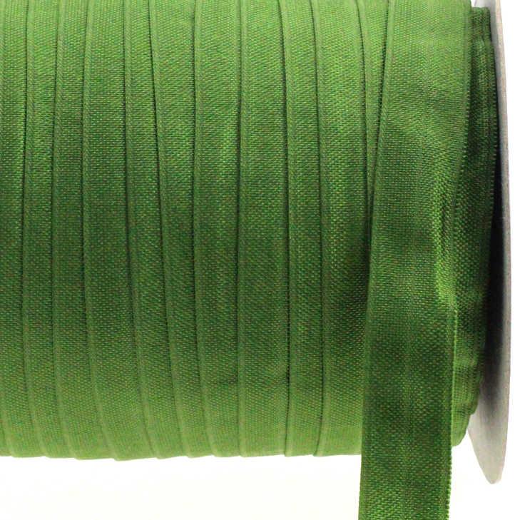 """5/8 """"16mm renk yosun elastik şerit üzerinde kat katı mat dokuma el yapımı saç yaylar kafa bandı hediye paketi süslemeleri 50 metre"""