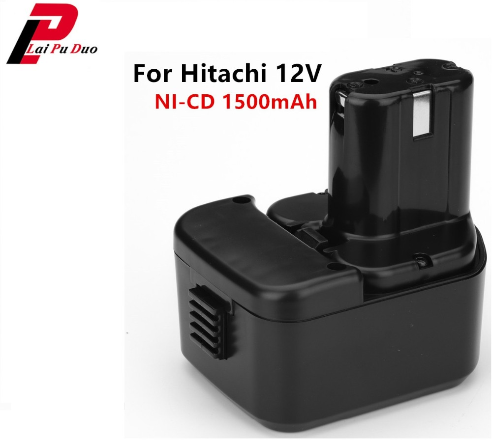 <font><b>12V</b></font> 1500mAh/<font><b>1.5Ah</b></font> NI-CD Rechargeable Power Tools Replacement <font><b>Battery</b></font> for Hitachi EB1212S EB1214L EB1214S EB1220BL image