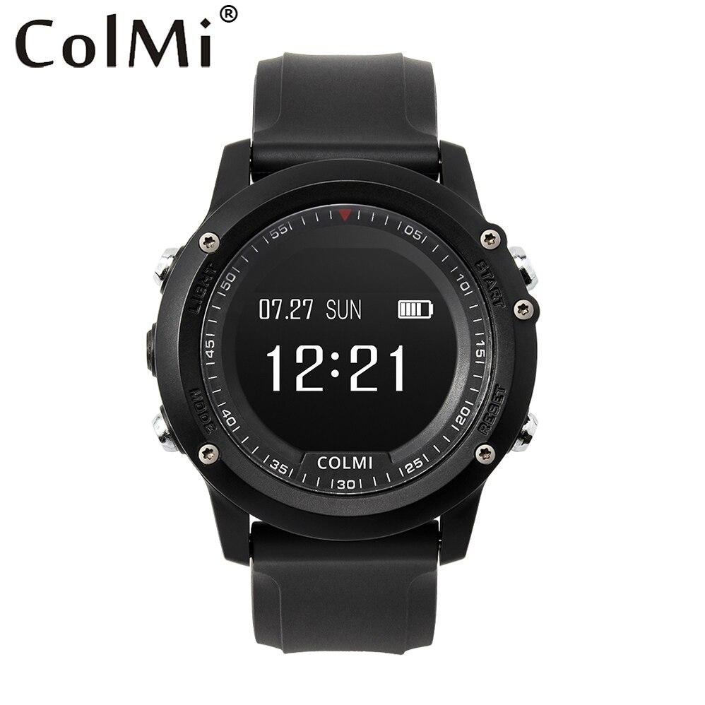 COLMI T2 Smart Watch Monitor de ritmo cardíaco impermeable mensaje Brim hombres Fitness salud Sleep Tracker para iphone 6 Huawei Xiaomi