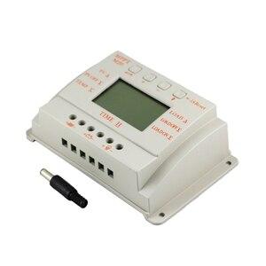 Image 4 - MPPT 20A LCD güneş enerjisi şarj cihazı 12 V 24 V Sıcaklık sensörlü ışık ve Zamanlayıcı Kontrolü Ev Aydınlatma Sistemi için Y SOLAR