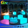 30 cm led light cubos lumineux levou recarregável cubo cadeira cubo iluminado free grátis