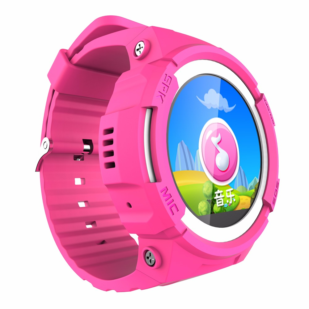 US $85 5 |V12 2pc IOS Android Children Smart Watches GPS Tracker for kids  with Call Voice Message WeChat SOS MP3 Music Step Counter-in Smart Watches
