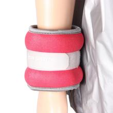 цена на A pair of Family Fitness Leggings Wrist Load Running Sandbags Adjustable Invisible Iron Sandbags free shipping