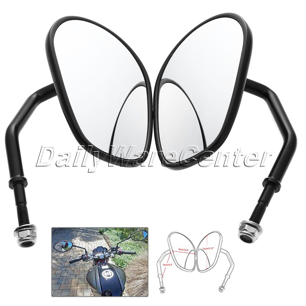 Aluminum Motorcycle Rearview Side Mirrors For Harley DAVIDSON XL 1200L XL 883 SPORTSTER Softail XL Scooter Parts Motor Accessory