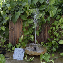 Solar Power Floating Fountain Water Pump for Garden Pond Pool Fish Tank Landscape Pool Garden Solar Power Decorative Fountain solar water fountain panel power water fountain pump floating fish tank pond pool watering pump garden irrigation submersible