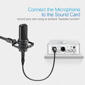 Image 3 - Ugreen kabel XLR Mikrofon do Karaoke dźwięku Cannon przewód Plug XLR rozszerzenia Mikrofon kabel do mikser Audio wzmacniacze XLR przewód