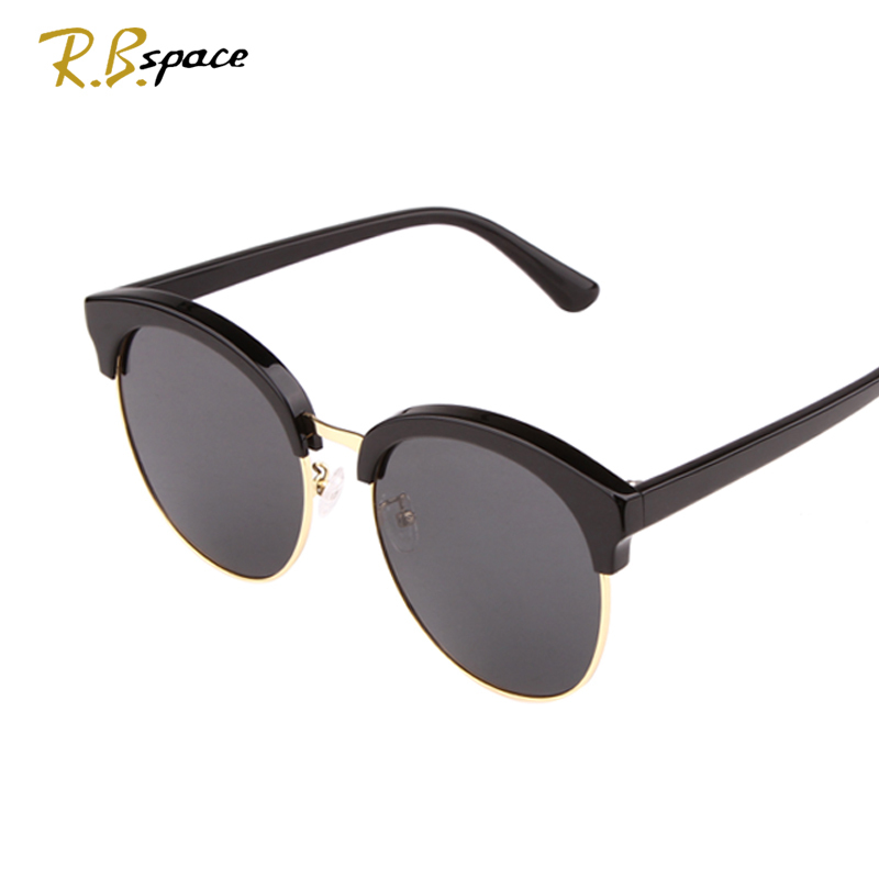 R.Bspace Brand hot Summer style Sunglasses Round sunglasses big Lenses fashion UV400 Luxury retro womens sunglasses Unisex ...