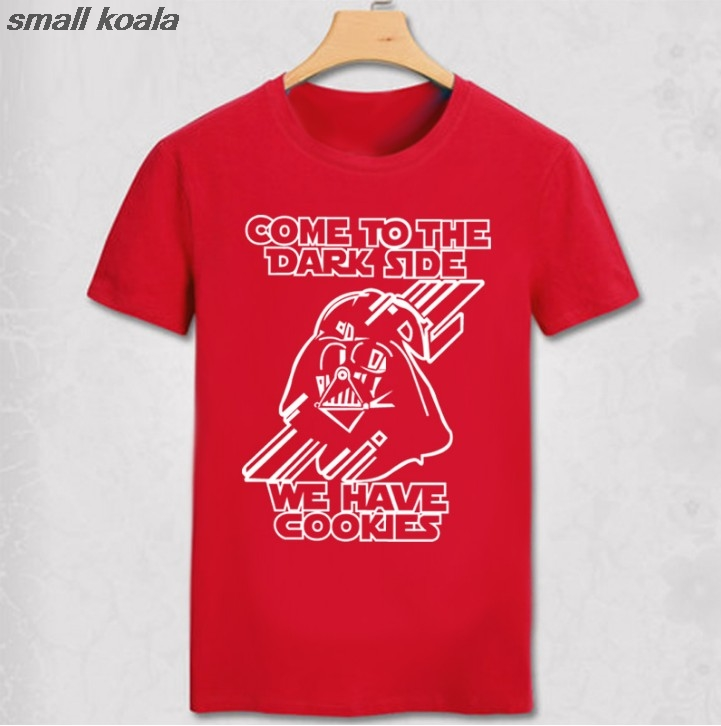 New Style Verão Tees Camisetas Starwars Darth Vader de Star Wars Dos Homens    Das Mulheres Camisa Retro T temos biscoitos feito sob encomenda Legal T  Camisa ... 350ac9d3dbf