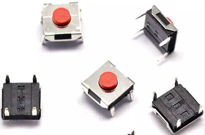 Lighting Accessories 1000pcs /6*6*3.1mm Smd5 Red Push Button Switch 6x6x3.1 Touch Micro Switch 100pcs