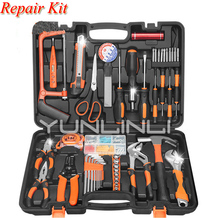 Woodworking Household Repair Tool Set Combination Multi-function Hardware Tools Toolbox  Jk1108 12pcs hardware toolbox tool set portable home combination repair toolbox with plastic box