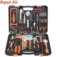 Woodworking Household Repair Tool Set Combination Multi function Hardware Tools Toolbox Jk1108