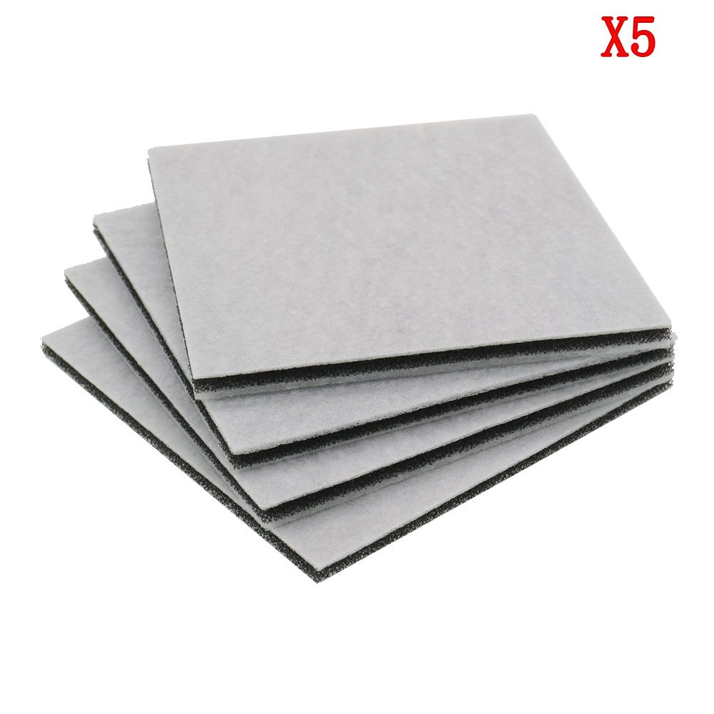 5pcs/lot  Vacuum Cleaner HEPA Filter For Philips Electrolux Motor Cotton Filter Wind Air Inlet Outlet Filter