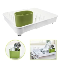 Hot Sale Companion Dishes Sink Drain And Plastic Filter Plate Storage Rack Kitchen Shelving Rack Drain Board Kitchen Organizer